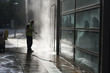 Commercial Power Wash - 48870887