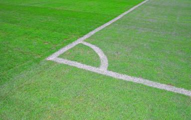 Corner line - football stadium