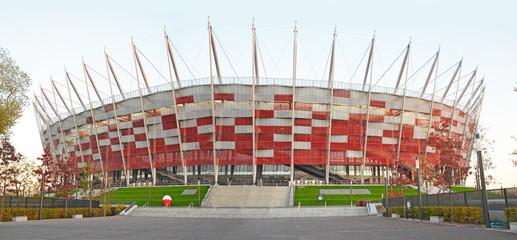 Fototapeta stadion Narodowy Warszawa Polska