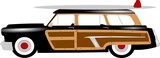 woody stationwagon from fifties