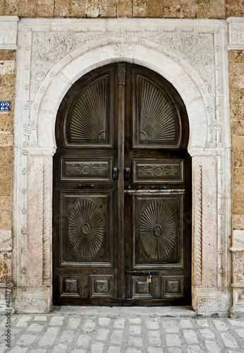 Wooden Tunisian Door
