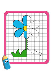 simmetria, fiore