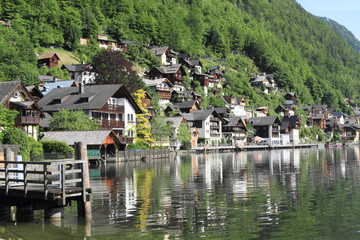 Hallstatt old town and lake, unesco heritage, Austria