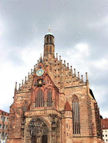 Church of Our Lady in Nuremberg, unesco heritage, Germany