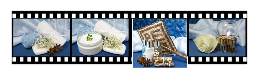 film of products for body care