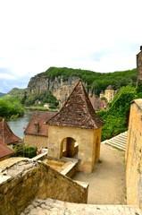 La Roque Gageac, village troglodyte