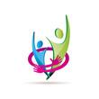 Logo Safe Teamwork # Vector