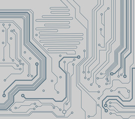 circuit board pattern. vector background