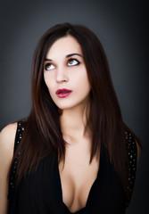 italian woman portrait
