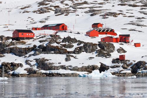 Plexiglas Antarctica Argentinische Station