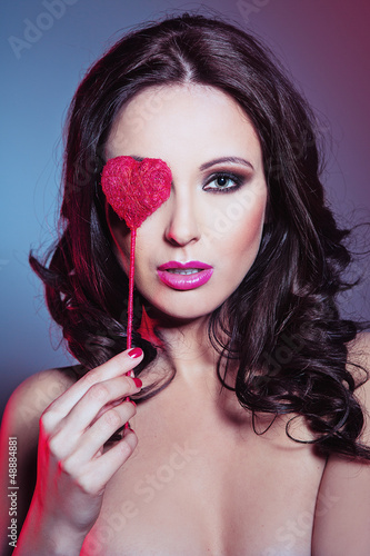 Sexy woman - valentine's day