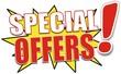 étiquette special offers