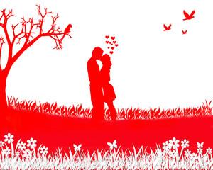 Valentinstag Tag der Liebe