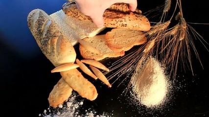 surtido de panes