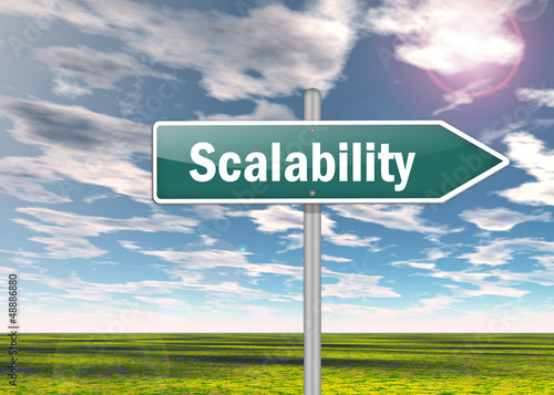 "Signpost ""Scalability"""