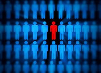Gruppen und Einzelner