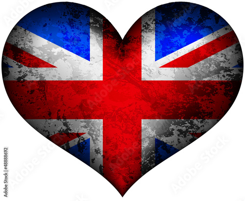 United Kingdom stone heart