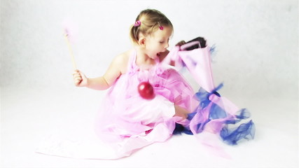fairy doing magic