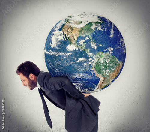 The weight of the planet