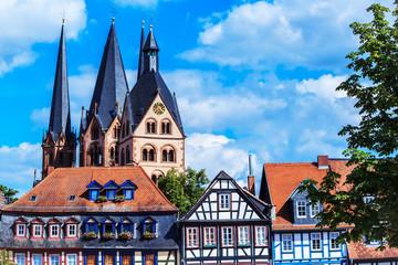 Gelnhausen – Obermarkt und Marienkirche