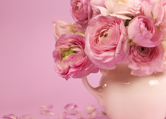 Flowers art. Wedding holiday card