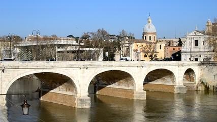Ponte Cavour - Porto di Ripetta (Roma)