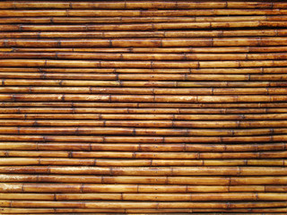 Texture the bamboo wall