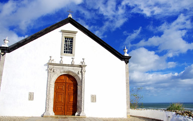 Old chapel in Algarve region,  Portugal