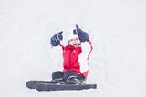 Fototapeta zewnątrz - zabawa - Sporty Zimowe