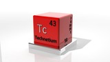 Technetium, 3d chemical element of the periodic