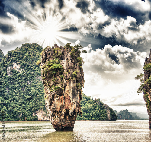Phang Nga Bay rocks, James Bond Island, Thailand