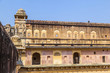 Beautiful Amber Fort near Jaipur city in India
