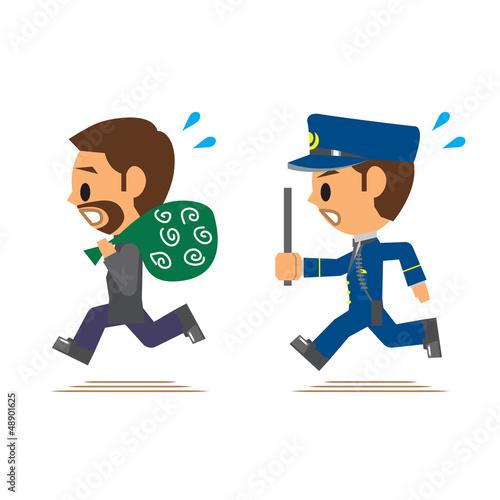 警察官 逮捕