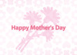 message card happy mother's day flower 001
