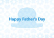 message card happy father's day hat 001