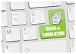 clavier devis & simulation