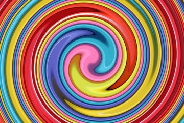 Colors Swirl - Farben Wirbel