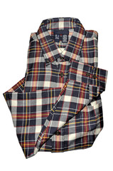 Flannel Shirt With Collar