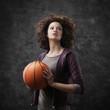 Female basketball player