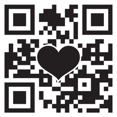 I Love You! in QR Code