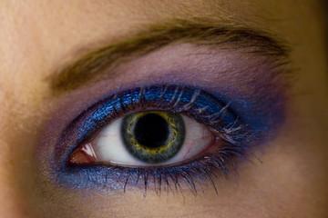 detail of make-up