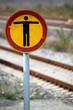 Gleis betreten verboten