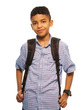Black schoolboy
