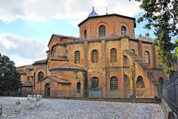 Italy, Ravenna San Vitale Basilica