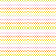 Seamless Pattern Dots Pastel Rainbow Green