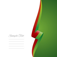 Portuguese right side brochure cover vector