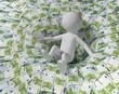 Schulden Absturz