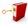 Red Folder Golden Key