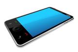 vector illustration of smartphone against white background