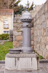 fuente de hierro fundido, exteriores
